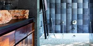 Salle De Bain Exotique : salle de bains exotique notre dossier marie claire ~ Teatrodelosmanantiales.com Idées de Décoration