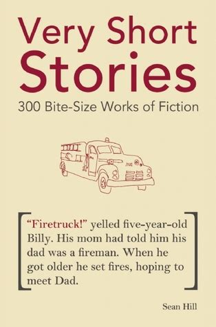 short stories  bite size works  fiction  sean