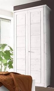Massivholz Kleiderschrank Weiß : massivholz kleiderschrank 2t rig schlafzimmerschrank ~ Lateststills.com Haus und Dekorationen
