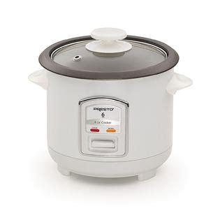Presto 6 Cup Rice Cooker  Appliances  Small Kitchen