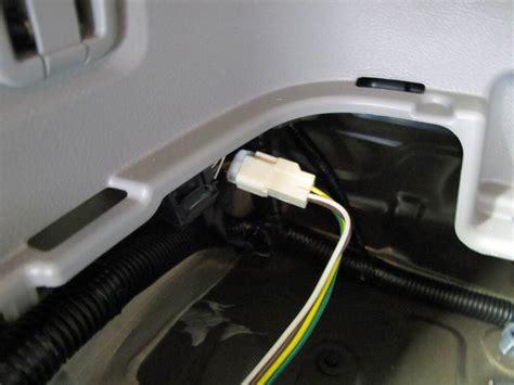 toyota highlander curt  connector vehicle wiring