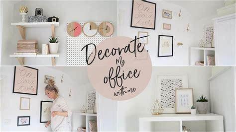 decorate  office   kate murnane youtube