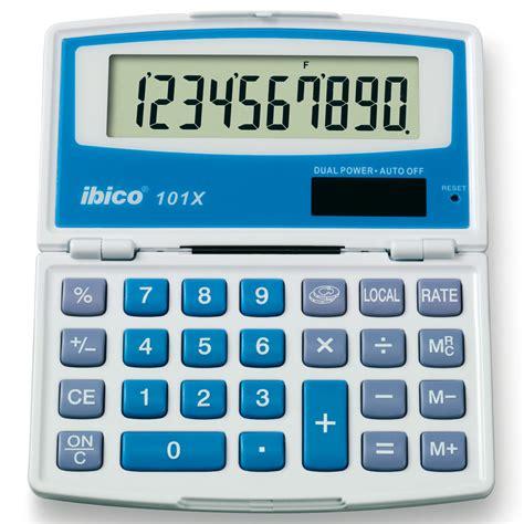 fourniture de bureau ibico 101x calculatrice ibico sur ldlc com