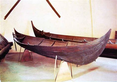 Viking Boats Found by The Smallest Of The Gokstad Viking Small Boats Found In