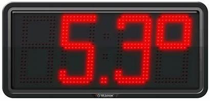 Temperature Commercial Led Display Digital Displays Digit
