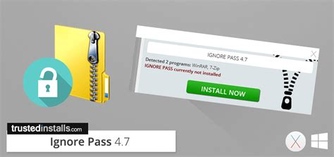 ignore pass 4 7 rar zip 7z password remover trusted installs website