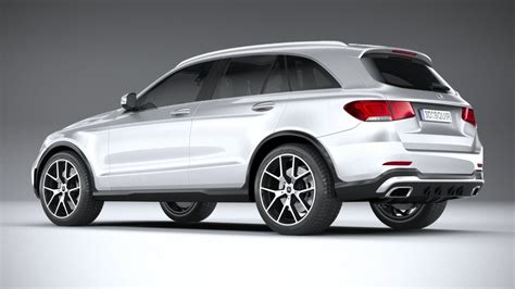 You can customize the amg model even further with the amg night package. Mercedes-Benz GLC AMG 2020 3D Model in SUV 3DExport