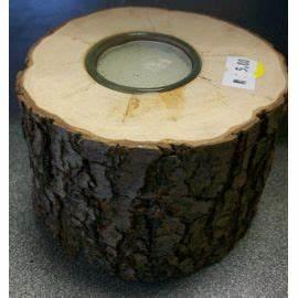 Achat Tronc Arbre Decoratif : bougie dans morceaux de tronc d 39 arbre achat et vente ~ Zukunftsfamilie.com Idées de Décoration