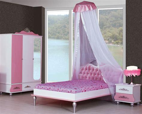 Kinderzimmer Prinzessin Kinder Bett Mädchen Pink