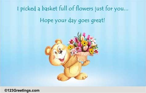 flowers   great day    great day ecards