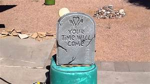 Animated Tombstone Prop 2
