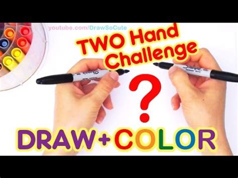 draw  cute  hand drawing coloring challenge