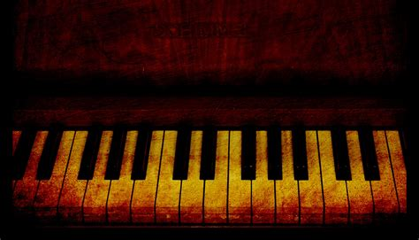 piano keys vintage  stock photo public domain pictures