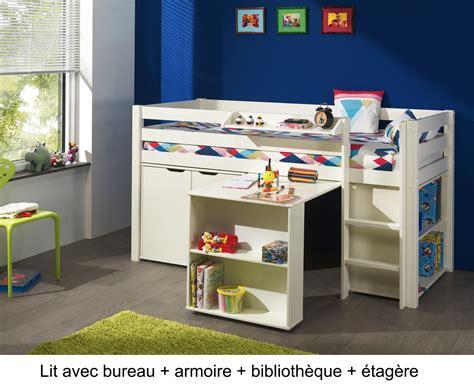 bureau de lit lit enfant combine bureau 28 images lit enfant combin