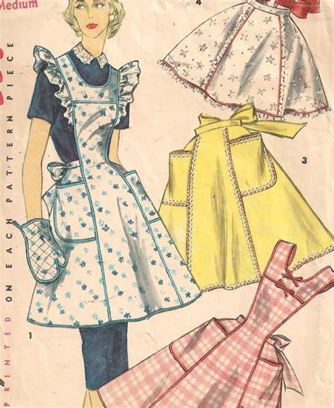 1950s Apron Sewing Pattern