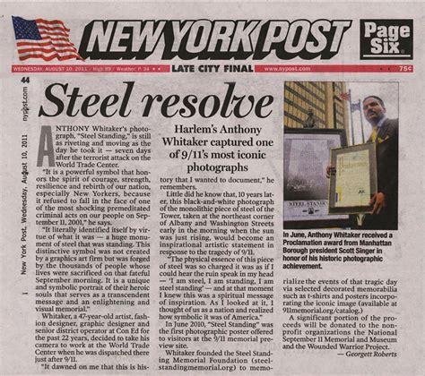 News Articles   Steel Standing Memorial Foundation