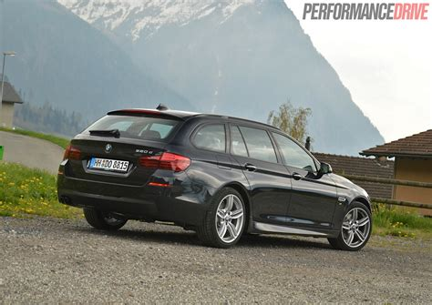 2014 Bmw 520d Touring M Sport Review (video