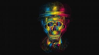 Skull Evil Dark Skulls Skeleton Artwork Horror