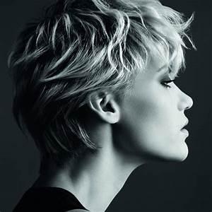 Coupe Mi Courte Femme : 1001 coupes et coiffures tendances cheveux courts mi ~ Nature-et-papiers.com Idées de Décoration