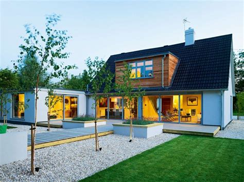 bungalow   transformed    modern open plan home   contemporary remodel