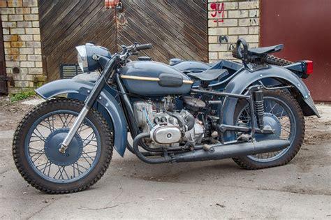 Dnepr Mt-9 Vintage Soviet Army Motorcycle Custom Motorbike