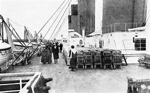 Titanic On Deck 1912 Photograph By Granger