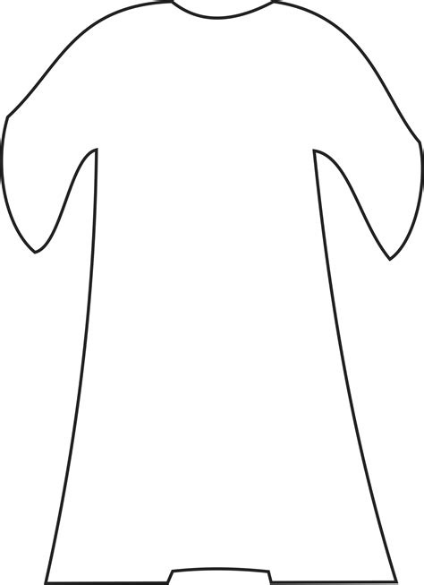 Coat Template by My Children S Curriculum Joseph S Dreams