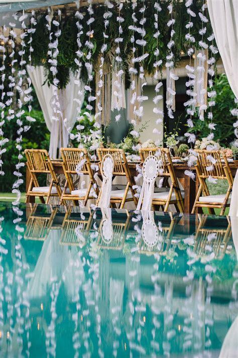 bohemian wedding in bali wedding ideas 100