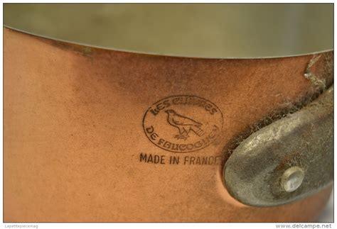 batterie de cuisine cuivre série batterie de casseroles en cuivre étamé estillées les cuivres de faucogney déco