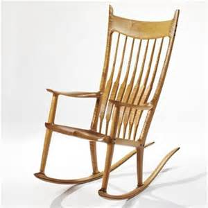 rocking chair by sam maloof on artnet