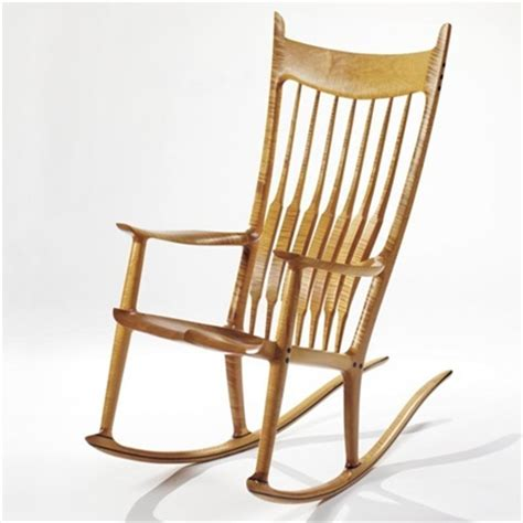 maloof rocking chair auction rocking chair by sam maloof on artnet