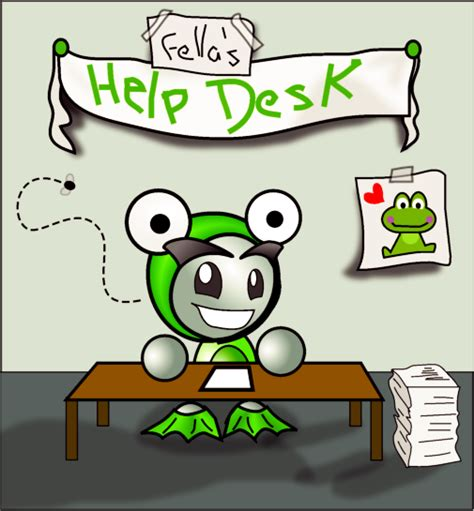 deviantart help desk fella s help desk by magdalenatr on deviantart