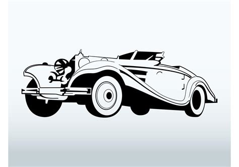 vintage cars clipart classic car vector download free vector art stock