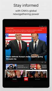 CNN Breaking US & World News - Android Apps on Google Play