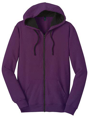 slim fit purple hoodie  black lining
