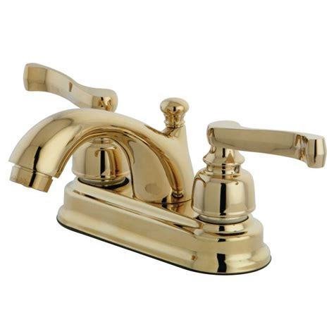 brass bathroom faucets kingston brass royale classic 4 in centerset 2 handle mid