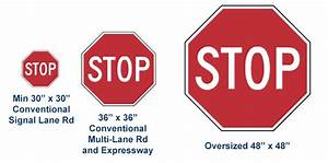 Sign Requirements Size