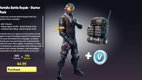 fortnite nouveau pack pack de depart skin halo millenium
