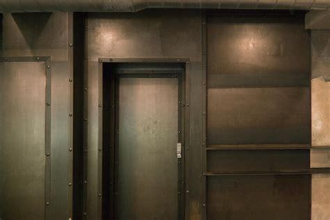 I Love The Door Framing. Cool Steel Industrial Door