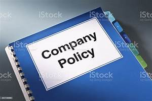 A Company Policy Plan Document Manual Book Still Life