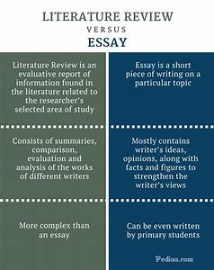 extended essay literature review