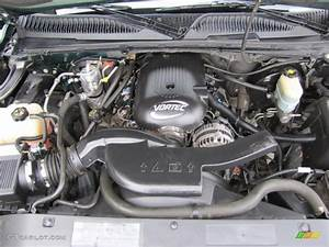 2002 Chevrolet Suburban 1500 Z71 4x4 Engine Photos