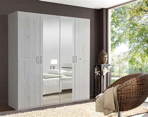 armoire chambre 4 portes armoire 4 portes chambre à coucher chene blanc