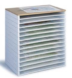 safco giant stacking trays budget flat paper art storage file