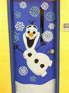 Frozen Christmas Door Decorations