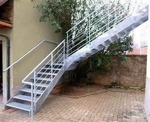 Escalier Exterieur Metal : alsace metal concept escalier ferronnerie d 39 art ~ Voncanada.com Idées de Décoration