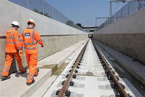 New train underpass at Acton reaches structural completion ...