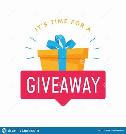 Giveaway Away Give Gift Template Banner Social