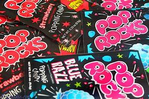 Pop Rock Cupcakes with Pop Rock Fireworks Truffle Toppers