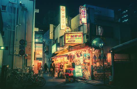 tokyo de nuit le temple des lucioles yzgeneration